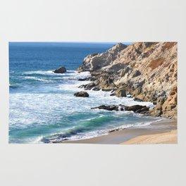 CALIFORNIA COAST - BLUE OCEAN Rug