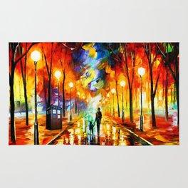 Tardis Art And The Light Street Rug