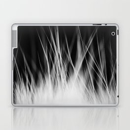 White Static Laptop & iPad Skin