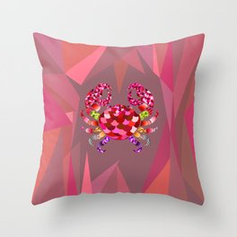 The Cancer Throw Pillow