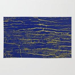 Stone Blue Yellow Rug