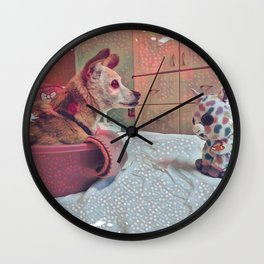 I Think Having A Dog In Your Life Makes You A Better Human Wall Clock