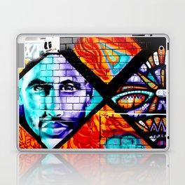 Laneway Stare Laptop & iPad Skin