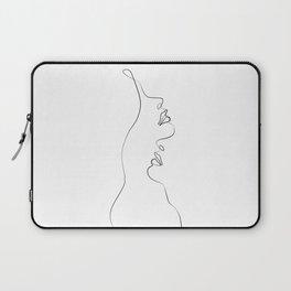 Lovers - Minimal Line Drawing Art Print4 Laptop Sleeve