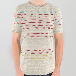 Yarns - Between the lines All Over Graphic Tee
