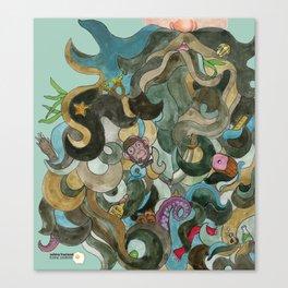 Pirate Beard Canvas Print