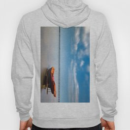Boat in the sea Hoody