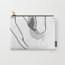 Woman Hand Carry-All Pouch