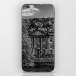 Chatsworth country house iPhone Skin