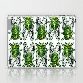 Emerald Cicadas Laptop & iPad Skin