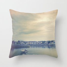 Afternoon in Galway Bay Throw Pillow