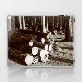 Stacked logs Laptop & iPad Skin