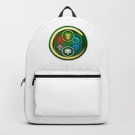 The Six elemental symbols Backpack