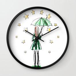Star Showers Wall Clock