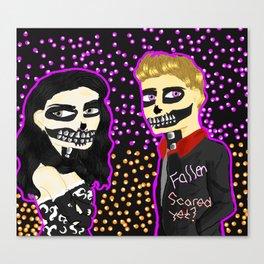 SkullRoyalty Canvas Print