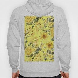 Vintage & Shabby Chic - Yellow Summer Flowers Hoody
