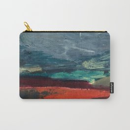 Abstract Blue Landscape Carry-All Pouch