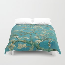 Almond Trees - Vincent Van Gogh Duvet Cover