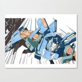 Skids Canvas Print