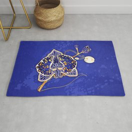Egyptian Blue :: Orchid Rug