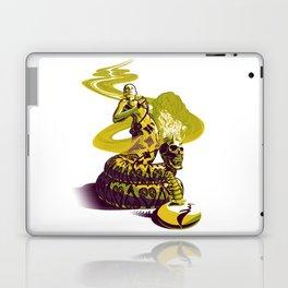 SnakeWoman and Demon-Skull Bong Laptop & iPad Skin