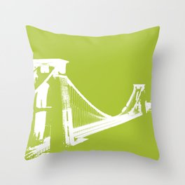 Clifton [Green] Throw Pillow