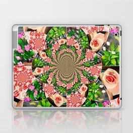 Rose Petal Mandala Laptop & iPad Skin