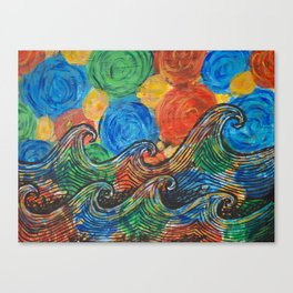 Waves in my Dreams Canvas Print