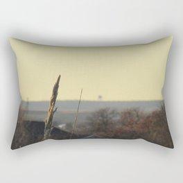 in the still of autumn Rectangular Pillow