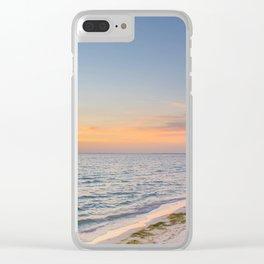 Golden Anna Maria Clear iPhone Case
