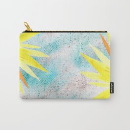Yellow In glitter Carry-All Pouch