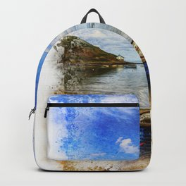 Row Your Worries Away Painting Backpack