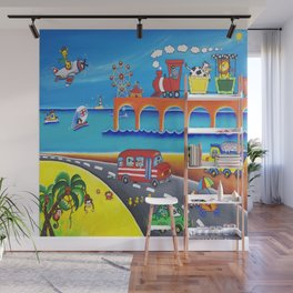 To the Beach  Wall Mural