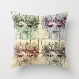 The Four Throw Pillow