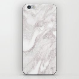 White Marble Mountain 013 iPhone Skin