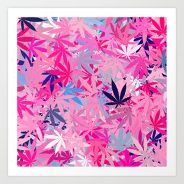 Marijuana Cannabis Weed Pot Art Print