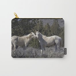 Wild Horses with Playful Spirits No 1 Carry-All Pouch