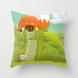 Journy Throw Pillow