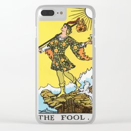 00 - The Fool Clear iPhone Case