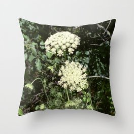 Queen Anne's Lace II Throw Pillow