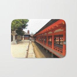 Shrines and Pagodas Bath Mat