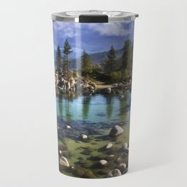 Sand Harbor Morning Travel Mug