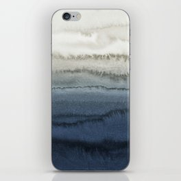 WITHIN THE TIDES - CRUSHING WAVES BLUE iPhone Skin