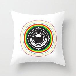 Trinity Bass Vibration Throw Pillow