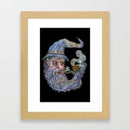 Wizard: Smokin' Bowls And Takin' Souls Framed Art Print