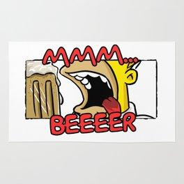 MMM... BEER Rug