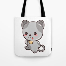 Happy Kitten Kawaii Tote Bag