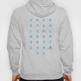 NZ Sign Language Alphabet Hoody