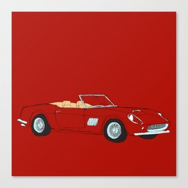 Ferrari 250 GT Califonia Spyder Canvas Print