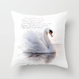The Swan Princess Throw Pillow
